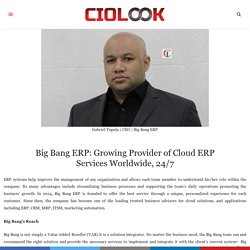 Growing Provider of Cloud ERP Services Worldwide, 24/7
