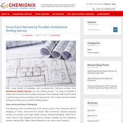 Some Extra Services by Providers Architectural Drafting Service - Chemionix