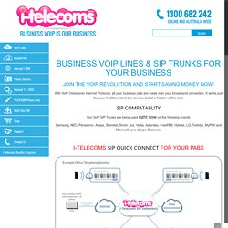 Hosted VoIP Phone System and Sip Trunk Providers Australia