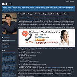 BizzLync - Blog View - Hotmail Tech Support Providers: Beginning To New Opportunities