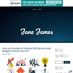 Know The Importance Of Website SEO Services for Bloggers