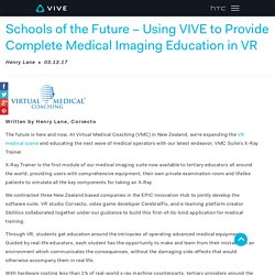 Vive Provides Complete Medical Imaging Education in VR