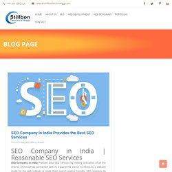 SEO Company In India Provides the Best SEO Services