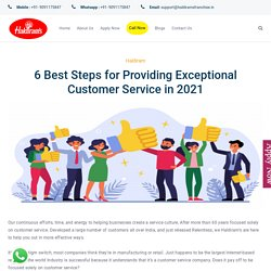 6 Best Steps for Providing Exceptional Customer Service in 2021