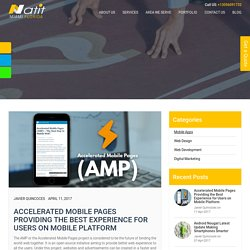 AMP Providing the Best Experience for Users on Mobile Platform