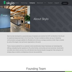 Skylo – providing data service of the future for Internet of Things