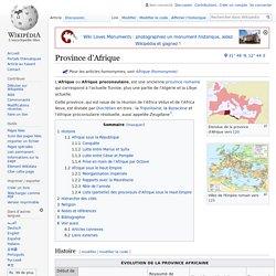 Province d'Afrique