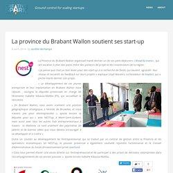 La province du Brabant Wallon soutient ses start-upCreative*Spark