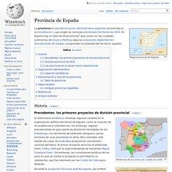 Provincia de España