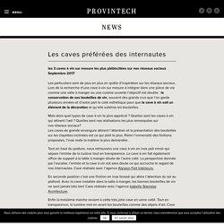 News — Provintech — Créateur de caves à vin sur-mesure
