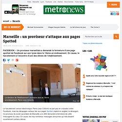 Le proviseur du lycée Lacordaire de Marseille en lutte contre les pages Spotted de Facebook