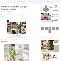 Reggio Inspired Learning
