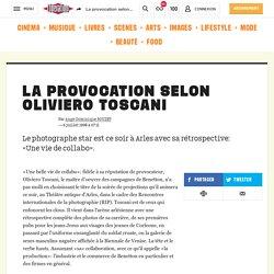 La provocation selon Oliviero Toscani