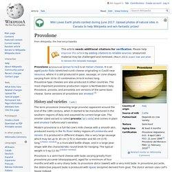 Provolone - Wikipedia