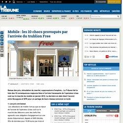 Mobile : les 10 chocs provoqués par l'arrivée du trublion Free
