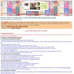 Proxecto Abalar. Lingua galega e literatura 1º ESO