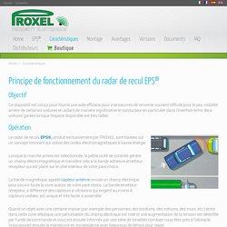 Proxel - Principe de fonctionnement de radar de recul EPS ®