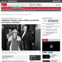 «Madame Claude», plus célèbre proxénète de France, n'est plus