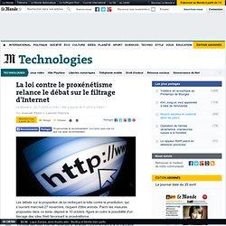 La loi contre le proxénétisme relance le débat sur le filtrage d'Internet