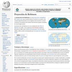 Proyección de Robinson