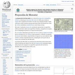 Proyección de Mercator