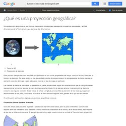 What is a Map Projection? - Google Earth Help
