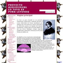 PROYECTO AUDIOVISUAL LO TUYO ES PURA LEYENDA
