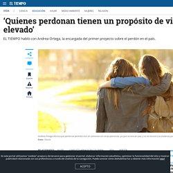 Proyecto busca enseñar el perdón a víctimas del conflicto en Colombia - Educación