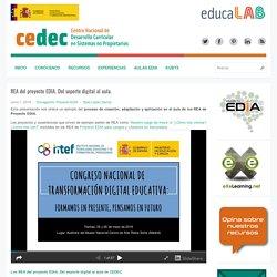 REA del proyecto EDIA. Del soporte digital al aula.