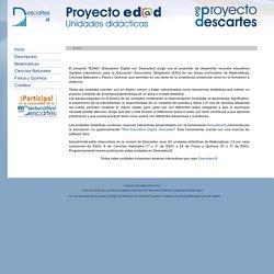 Proyecto EDAD - Educación digital con Descartes