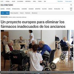 Un proyecto europeo para eliminar los fármacos inadecuados de los ancianos