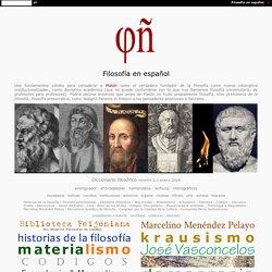 Proyecto Filosofía en español / www.filosofia.org
