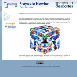 Proyecto Newton - Problemas