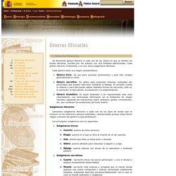 Proyecto Cíceros > Zona Profesores > 2° E.S.O. > Jauja > Teoría > V. Los géneros literarios