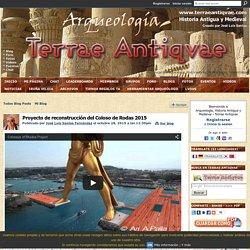 Proyecto de reconstrucción del Coloso de Rodas 2015