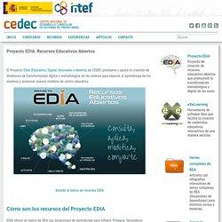 Proyecto EDIA: Recursos Educativos Abiertos
