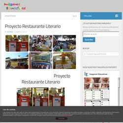 Proyecto Restaurante Literario