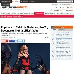 Tidal, el proyecto de Streaming por Madonna y otros artistas