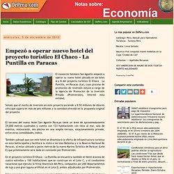 Empezó a operar nuevo hotel del proyecto turístico El Chaco - La Puntilla en Paracas