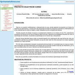 PROYECTO VIAJE FIN DE CURSO - 6primariaelultimocurso