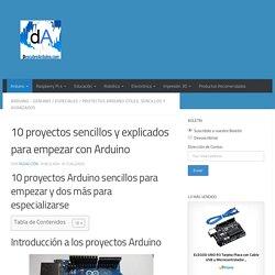 10 proyectos Arduino Fáciles y Básicos explicados paso a paso