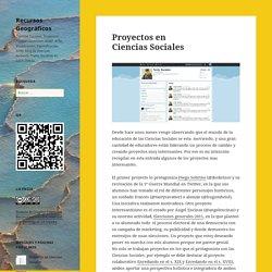 Proyectos en Ciencias Sociales – Recursos Geográficos