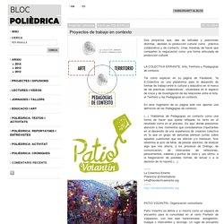 Proyectos de trabajo en contexto - POLIEDRICA