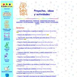 Proyectos, ideas y actividades