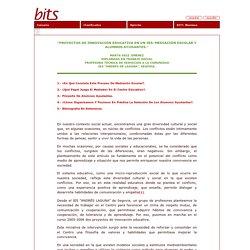 BITS - Proyectos de innovación educativa en un IES: Mediación Escolar y Alumnos Ayudantes