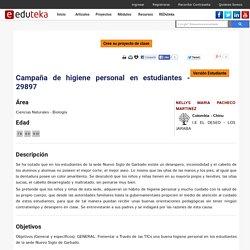 CAMPAÑA DE HIGIENE PERSONAL EN ESTUDIANTES - 29897