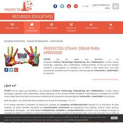 Proyectos STEAM: crear para aprender