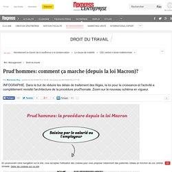 Prud'hommes: la procédure (depuis la loi Macron)