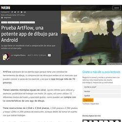Prueba ArtFlow, una potente app de dibujo para Android