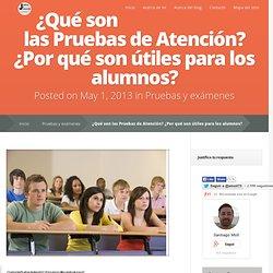 ¿Qué son las Pruebas de Atención? ¿Por qué son útiles para los alumnos?